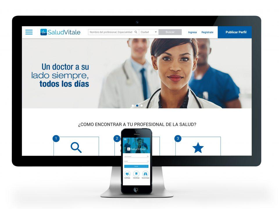 SaludVitale Web y App